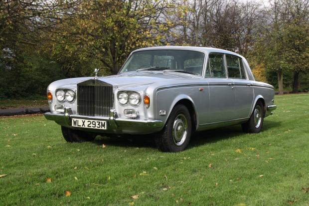 Легенраный Rolls Royce Фредди Меркьюри