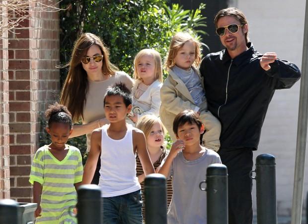Анджелина, Брэд и их 6 детей
