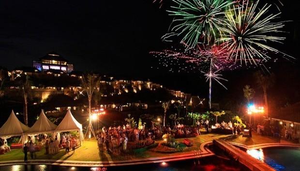 Перед встречей нового года на Бали