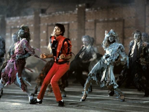 Съёмки клипа Thriller