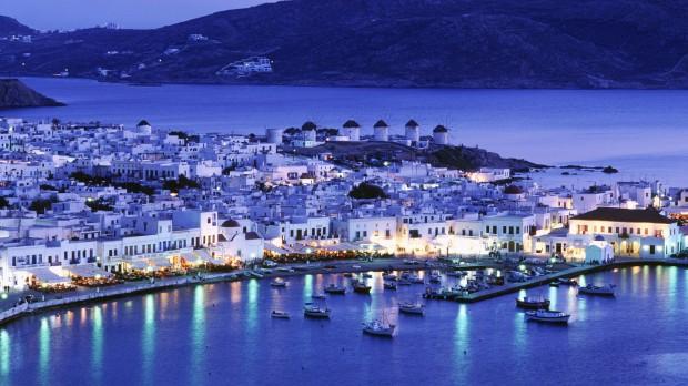 Остров Миконос - столица ночной жизни