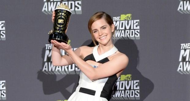 Эмма Уотсон на MTV Movie Awards