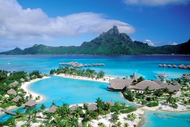 Райское место для отдыха-  острова Бора-Бора