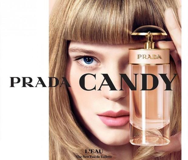 Леа Сейду в рекламе Прада