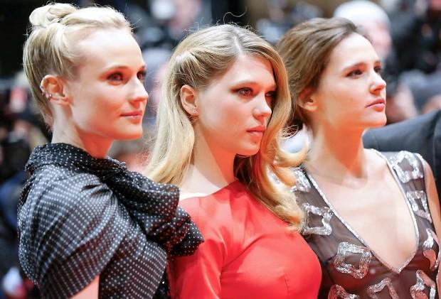 Леа Сайду на премьере Прощай моя королева в Берлине