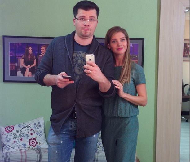 Селфи Гарика Харламова и Кристины Асмус