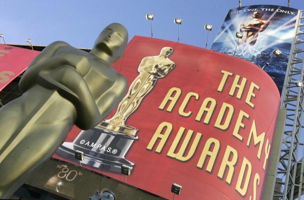 """Вход в здание, где проходит церемония награждения """"Оскар"""""""