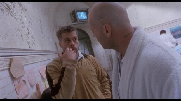 """Брэд Питт в фльме """"12 обезьян"""""""