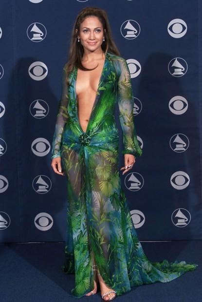 То самое зеленое платье Дженнифер Лопес от Versace