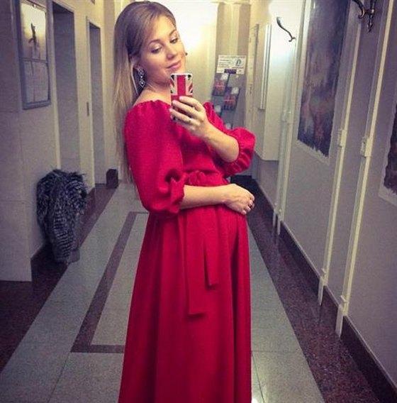 Кристина Асмус беременная