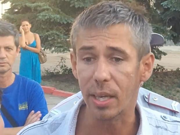 Панин в Крыму