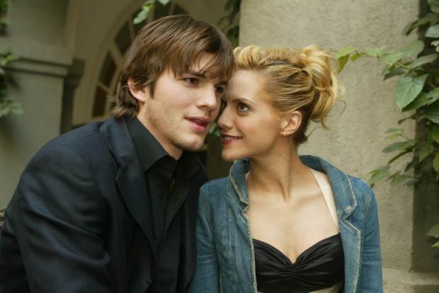 Совместное фото Эштона и Бриттани Мерфи