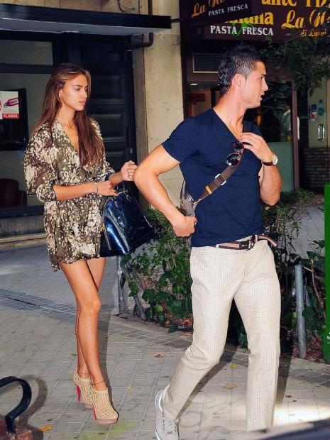Ирина догоняет Криштиано Роналдо
