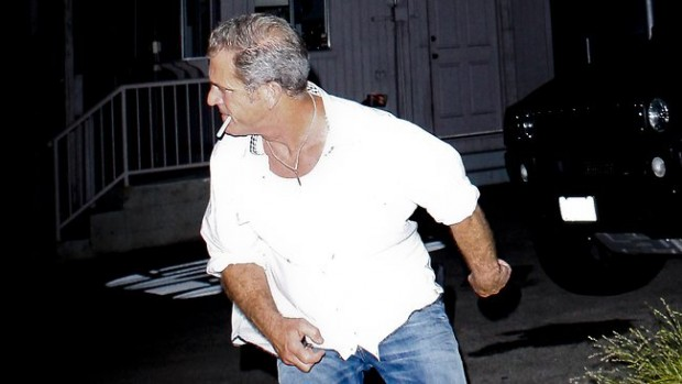 Пьяный Мел Гибсон