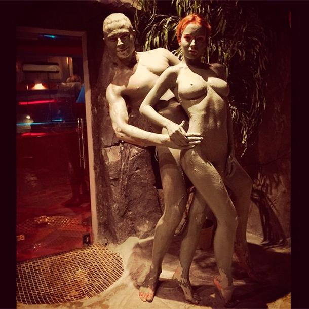 Эротическое фото Прохора с его подругой