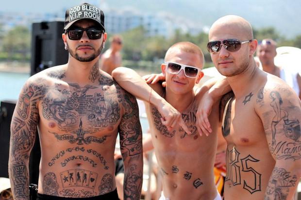 Татуировки Тимати