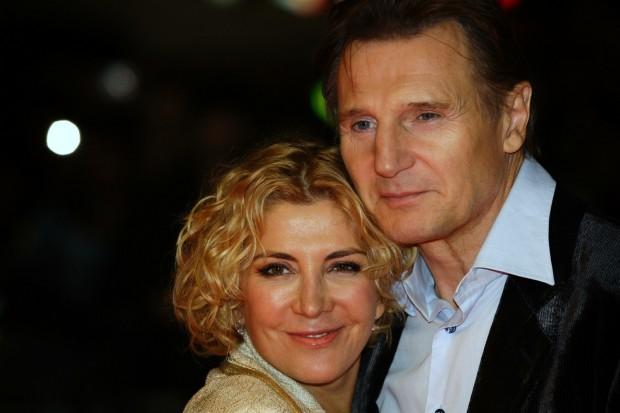 Лиам Нисон со своей бывшей супругой Наташей Ричардсон