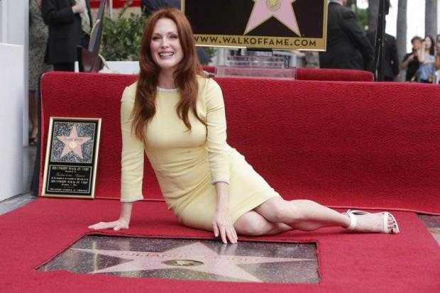 Между делом Джулианна обзавелась собственной звездой на голливудской Аллее славы