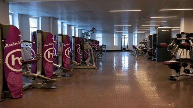 Фитнес-центр Мадонны