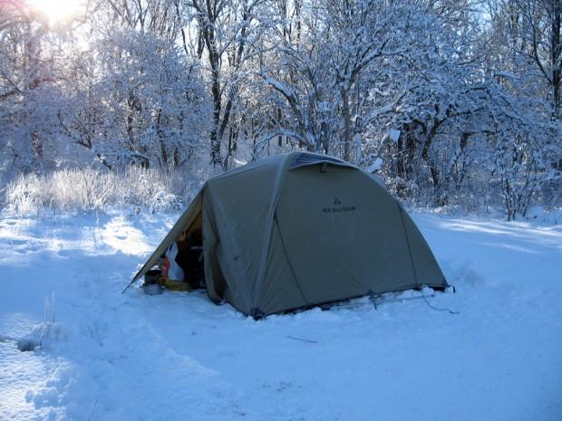 Фото палатки для зимнего похода