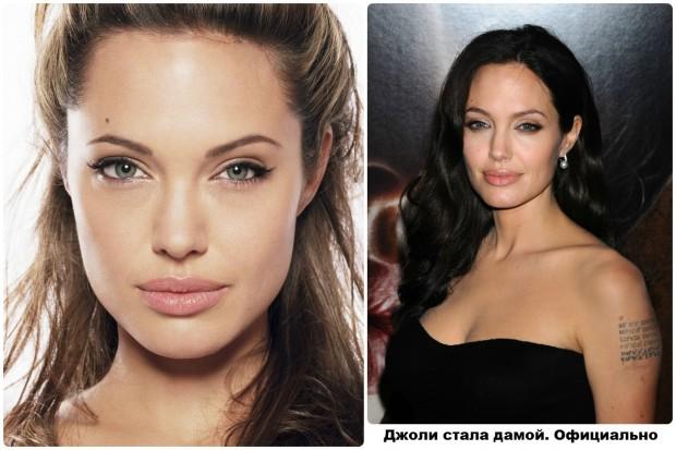 Отныне Анджелина - дама. Официально