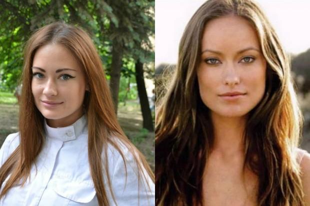Александра Попова и Оливия Уайлд