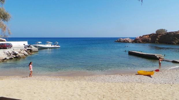 Пляж острова Антипарос