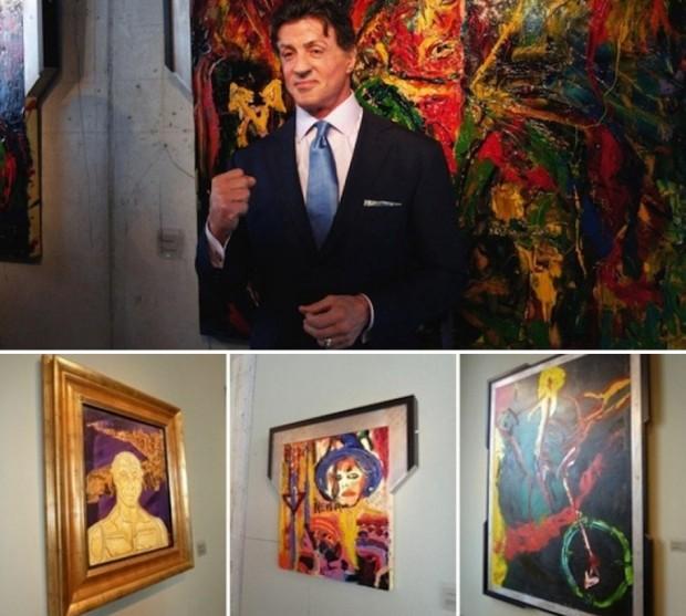 Сильвестр Сталлоне и его картины