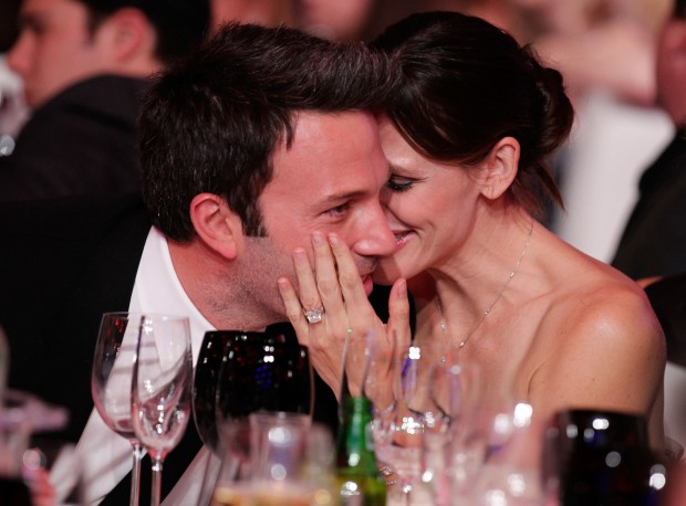Дженнифер и Бен в ресторане