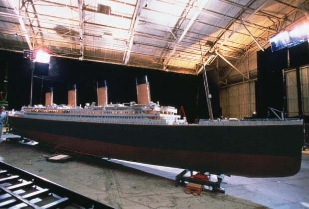 Макет корабля Титаник