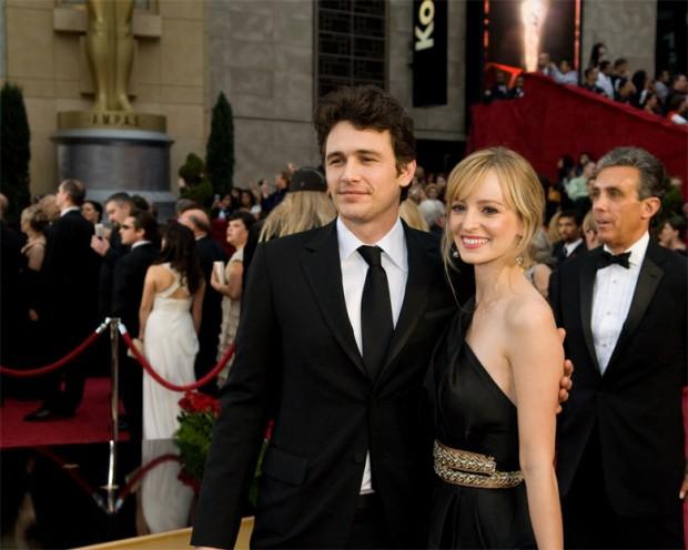 Джеймс и Анна на красной дорожке