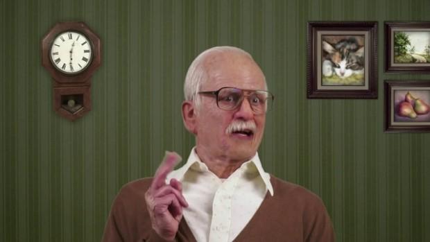 """Кадр из фильма """"Несносный дед"""""""
