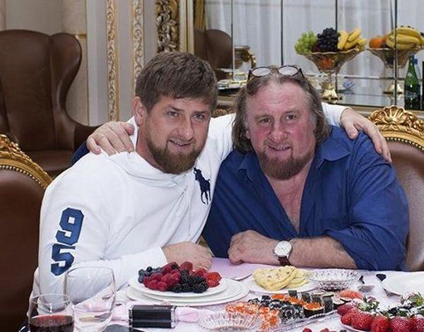 Жерар Депардье и Рамзан Кадыров