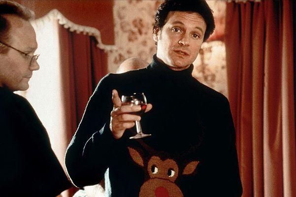 Мистер Дарси в рождественском свитере с оленем