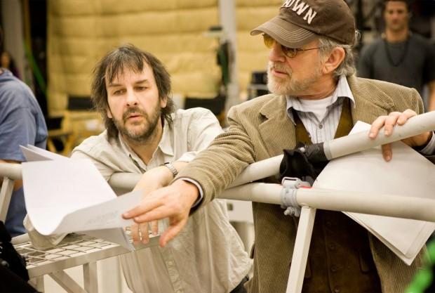 Питер Джексон и Стивен Спилберг обсуждают сценарий