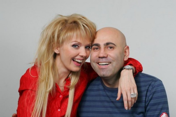 Иосиф Пригожин и Валерия на фотосессии