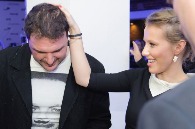 Ксения Собчак,Максим Виторган,актер,телеведущая,вместе,женаты