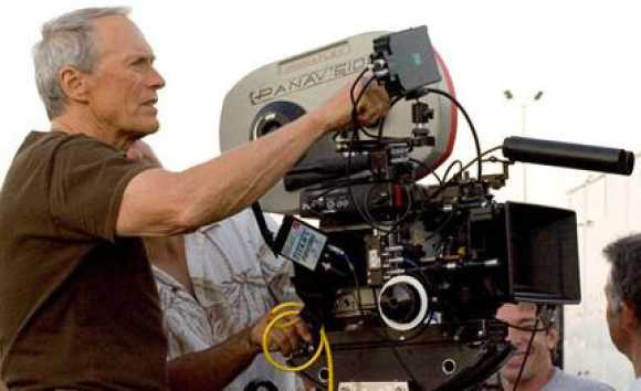 КЛинт Иствуд снимает фильм