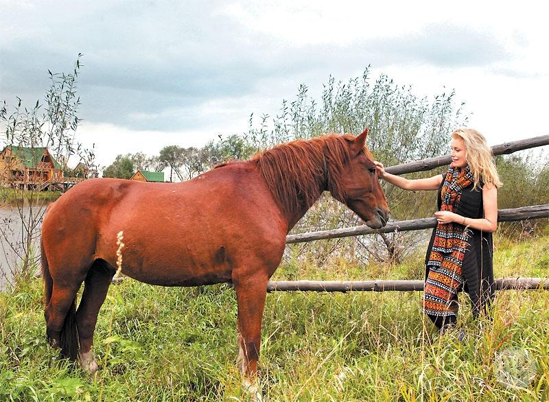 Мария Шукшина, конный двор, фото, Алтай