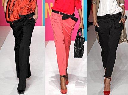 Какие брюки будут в моде весной 2014 года