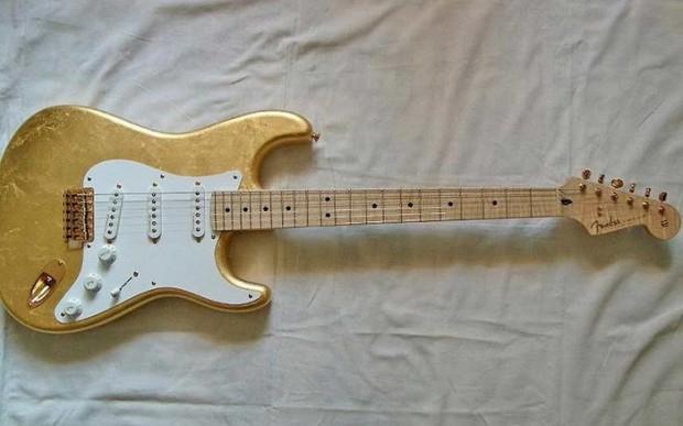 Gold Leaf Stratocaster