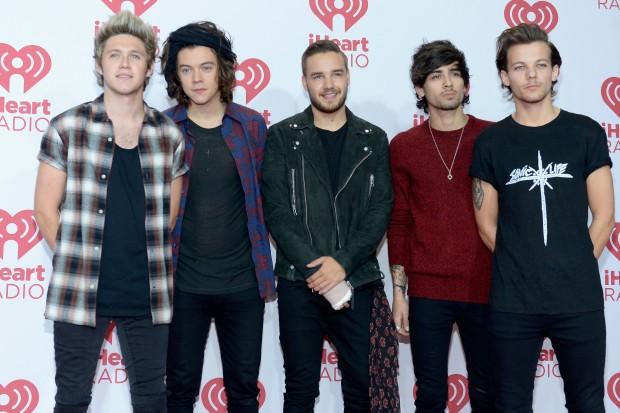 One Direction на красной дорожке