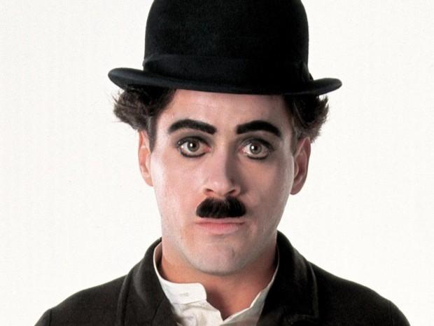 Роберт дауни-младший в фильме Чаплин