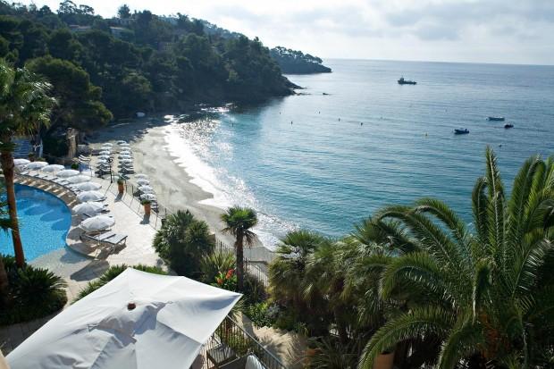 Один из пляжей Сен-Тропе