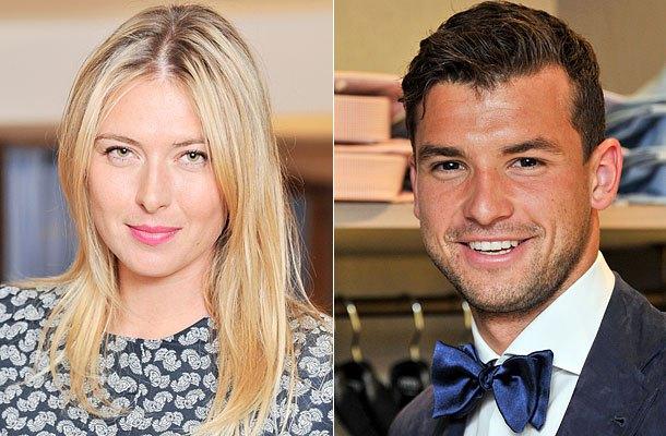 Мария Шарапова и Григор Димитров,теннисистка,вместе,спортсмен