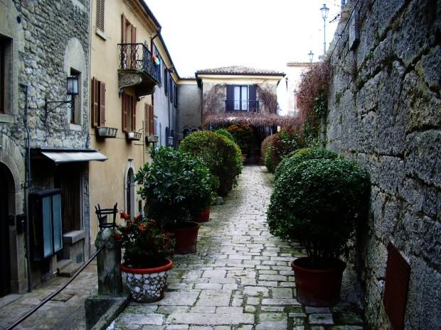 Улица Сан-Марино