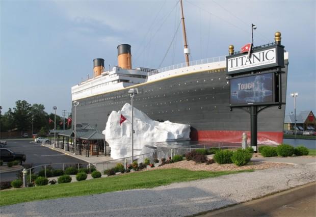 Декорация корабля Титаник