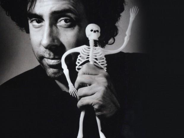 Тим с собственноручно созданным скелетом-куклой