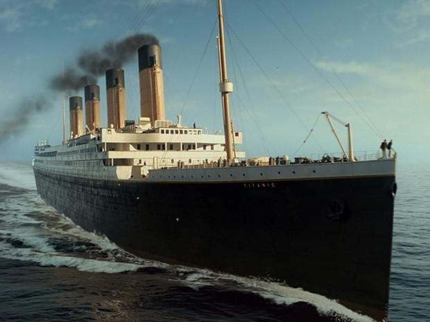 Фото корабля Титаник