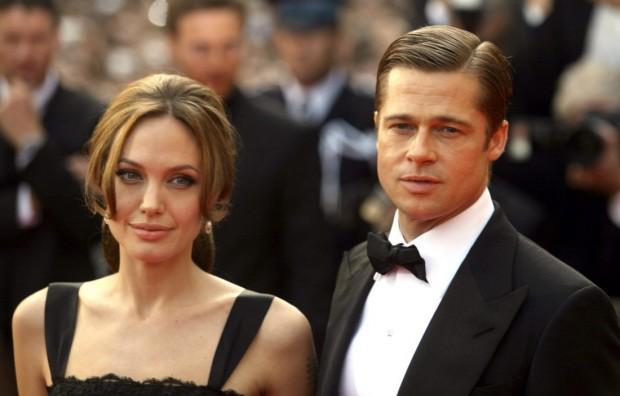 Питт и Джоли на светском мероприятии